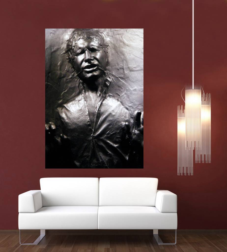 star wars han solo eingefroren in der carbonite riesiges 1 st ck ebay. Black Bedroom Furniture Sets. Home Design Ideas