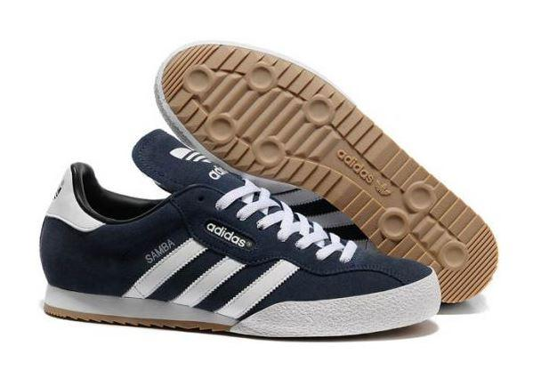 ADIDAS-SAMBA-SUPER-SUEDE-MENS-TRAINER-BLUES-UK-SIZE-8-9-10-11-NEW
