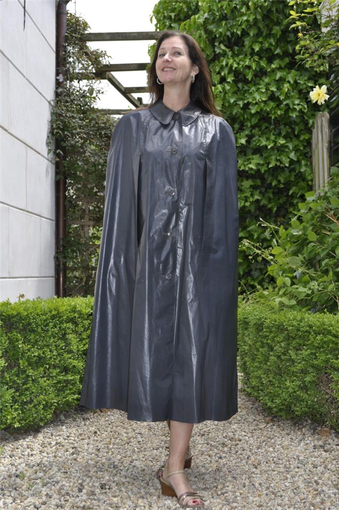 damen kleppermantel cape mantel grosse 44 ebay. Black Bedroom Furniture Sets. Home Design Ideas