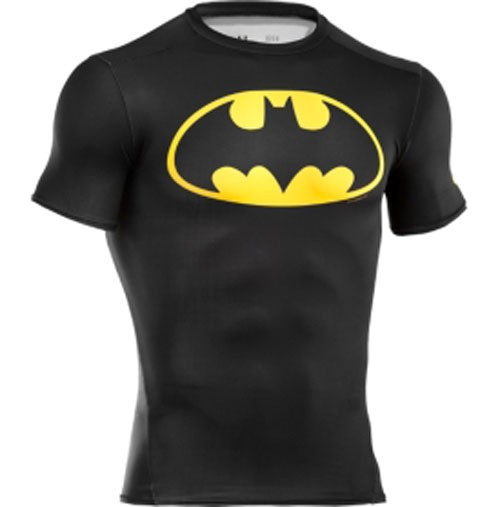 XXL Under Armour Men's Alter Ego Batman Compression Shirt