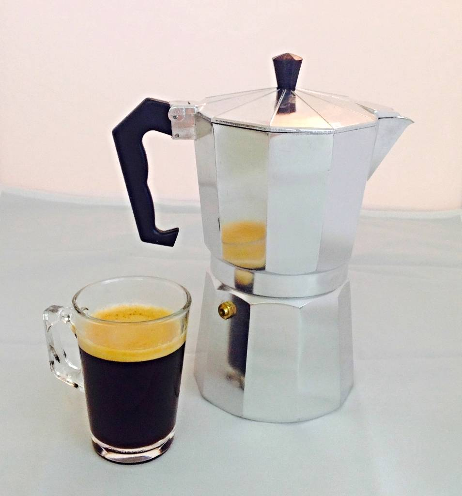 Italian Coffee Maker Best Coffee : Italian Stove top espresso coffee maker percolator 9 cup Coffee Stove Top