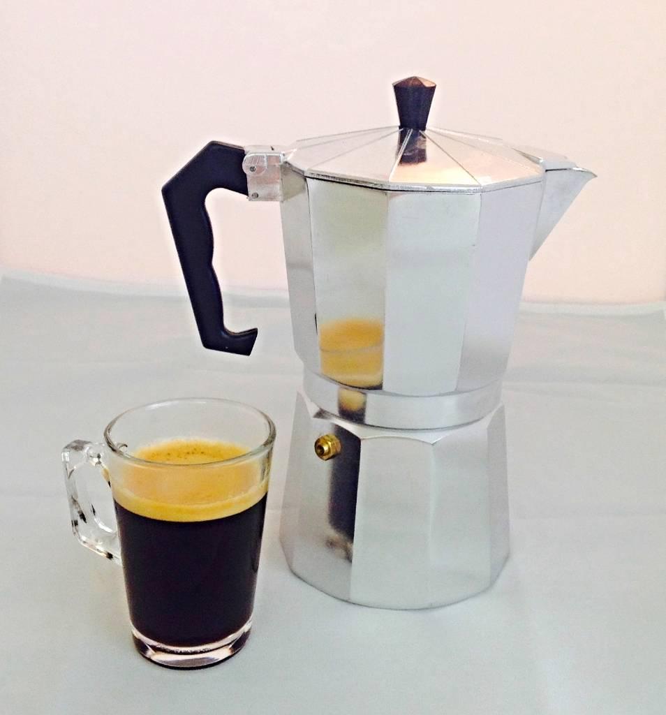 Italian Stove top espresso coffee maker percolator 9 cup Coffee Stove Top