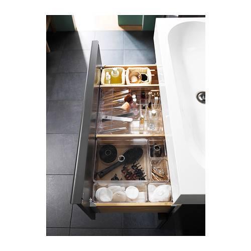 Jewellery Holder Organizer Storage Box Compartment Clear Acrylic