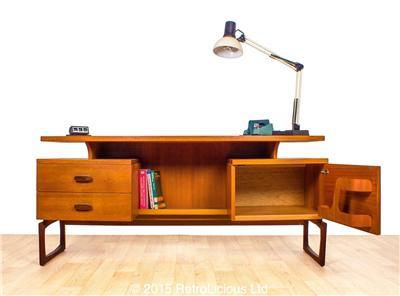 G plan e gomme quadrille desk dressing table teak mid for G plan bedroom furniture dressing tables