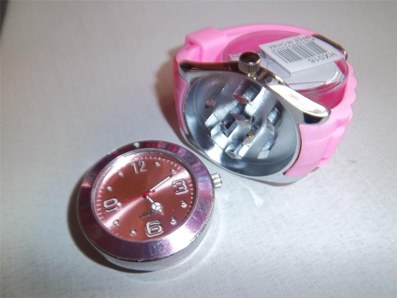 1 Sexy Sports Unisex 2 in 1 Working Watch With Herb Tobacco Shark Teeth Grinder