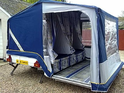 Comanche Montana Hard Top Folding Camper Trailer Tent