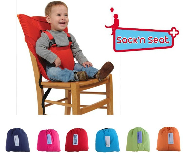portable travel baby high chair belt seat infant sack n. Black Bedroom Furniture Sets. Home Design Ideas