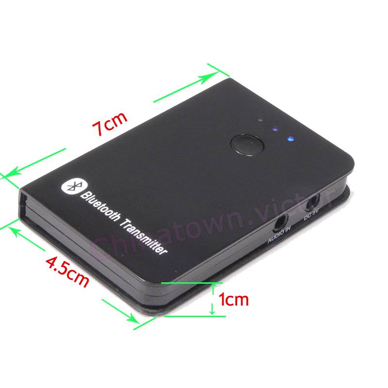 bluetooth audio transmitter a2dp stereo adapter for. Black Bedroom Furniture Sets. Home Design Ideas