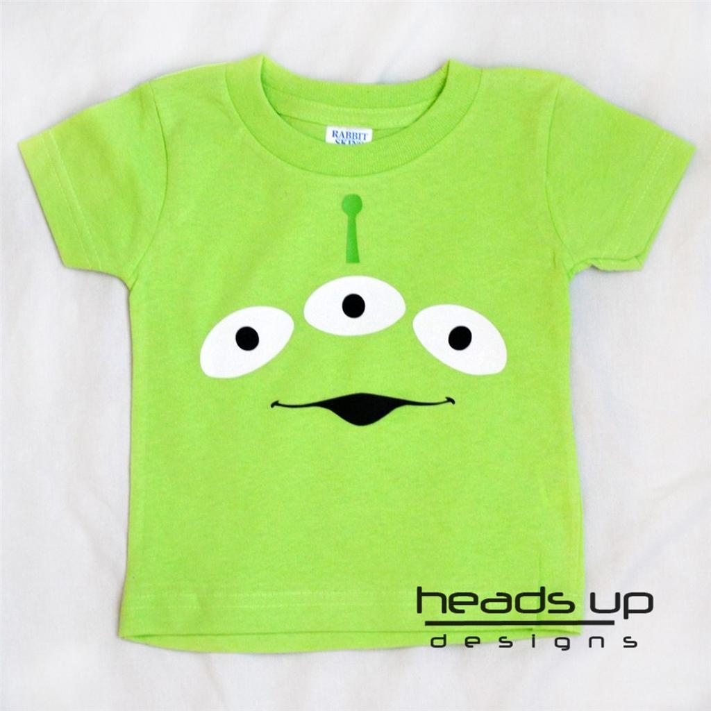 toy story alien shirt boy girl baby newborn onesie kid