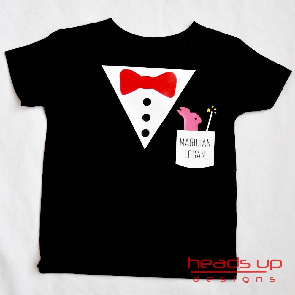Magician Personalized Shirt Boy Girl Toddler Newborn