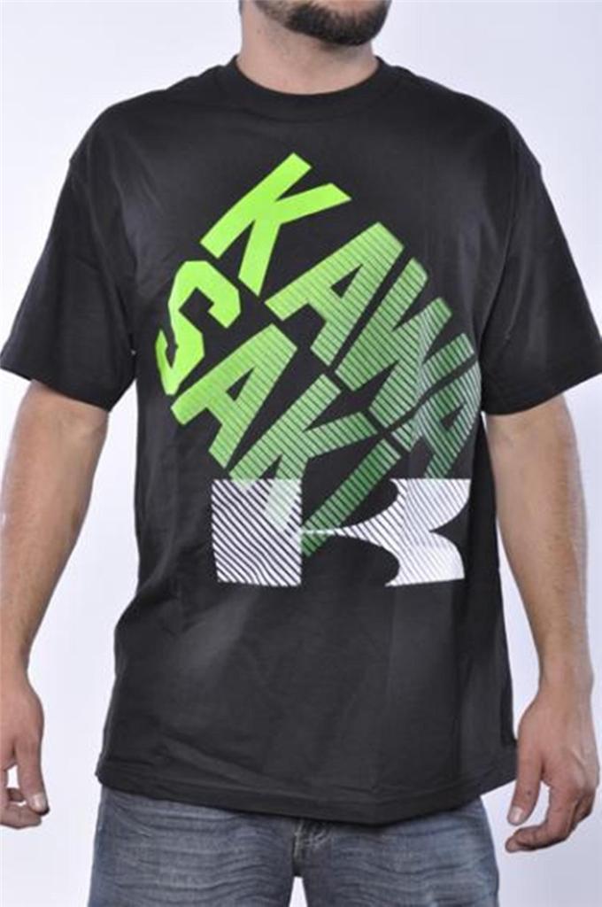 kawasaki mens motorcross monster atv black struts graphic tee shirt official ebay. Black Bedroom Furniture Sets. Home Design Ideas