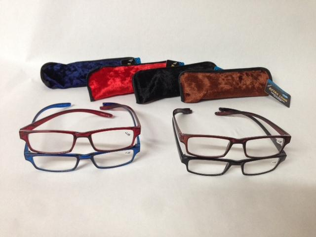 Eyeglass Frames With Long Temples : Extra Long Temple Color Reading Glasses Magnifiers Readers ...