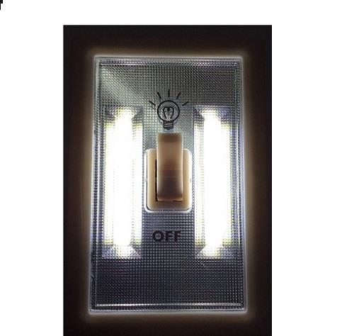diamond vision 8 led wireless light switch night light wall mount 08 1562 ebay. Black Bedroom Furniture Sets. Home Design Ideas