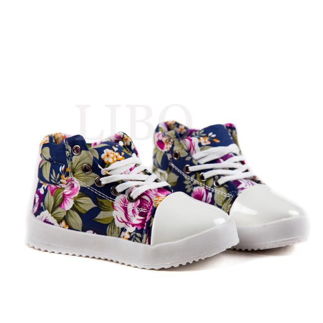 chaussure montante enfant b b fille baskets lacets fleur mode automne hiver ebay. Black Bedroom Furniture Sets. Home Design Ideas
