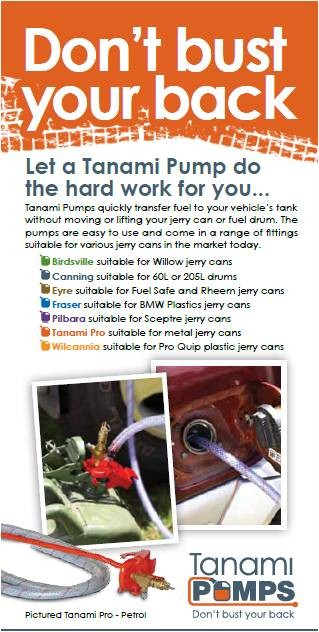 TANAMI PUMPS