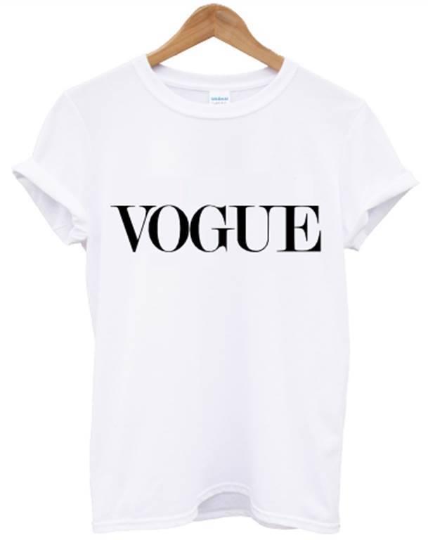 vogue t shirt celine celfie top tshirt women men swag dope hipster alone unisex ebay. Black Bedroom Furniture Sets. Home Design Ideas