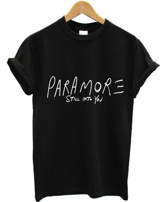 PARAMORE STILL INTO YOU T SHIRT AMERICAN ROCK BAND HAYLEY ... Paramore Mersch Nederland