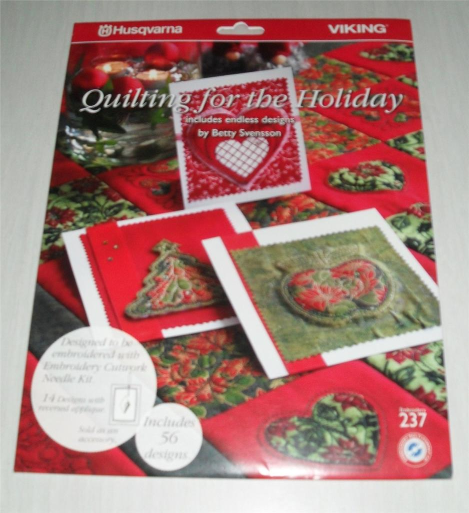 Husqvarna Viking Quilting Designs : Husqvarna Viking Quilting FOR THE Holiday Embroidery ...