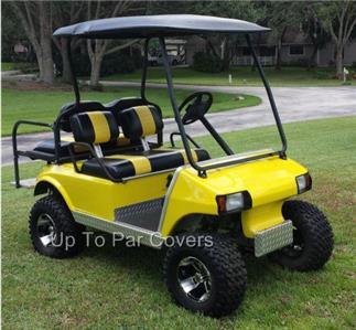 Club Car Pre 2000 Ds Golf Cart Custom Seat Cover Set 2