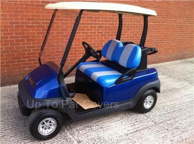 Club Car Precedent Golf Cart Front Rear Flip Seat Cover
