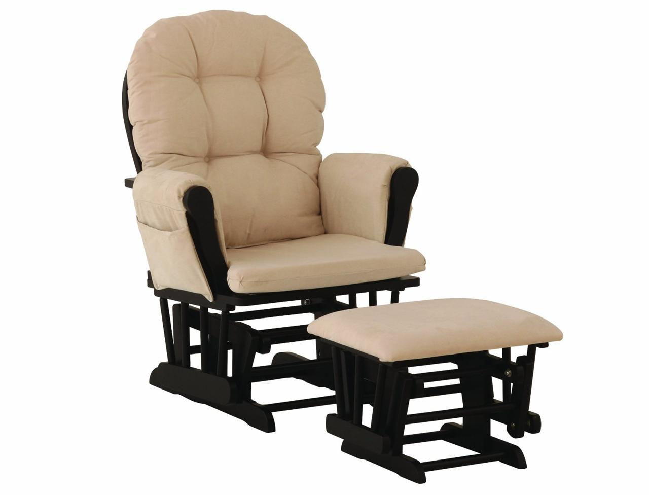 glider and ottoman set 6 colors rocker rocking chair furniture ebay