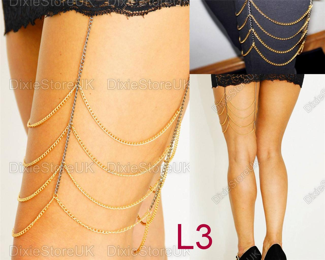 NEW-Stunning-Sexy-Leg-Body-Chain-Charm-Anklet-Ankle-Bracelet-Various-Styles