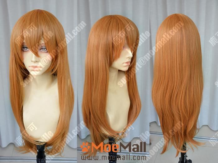 Neon Genesis Evangelion Asuka 75cm Straight Cosplay Party Wig