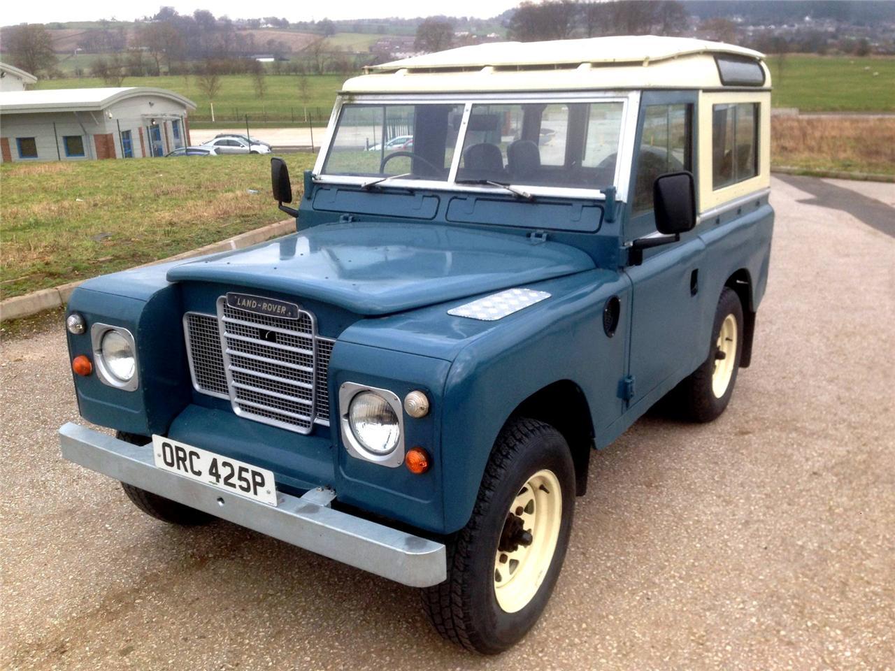 Find Used 1975 Landrover Defender 88 Quot 2 25 Diesel Safari
