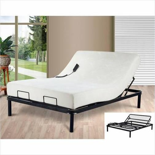 Electric adjustable bed and mattress : Primo adjustable beds and memory foam mattress electric