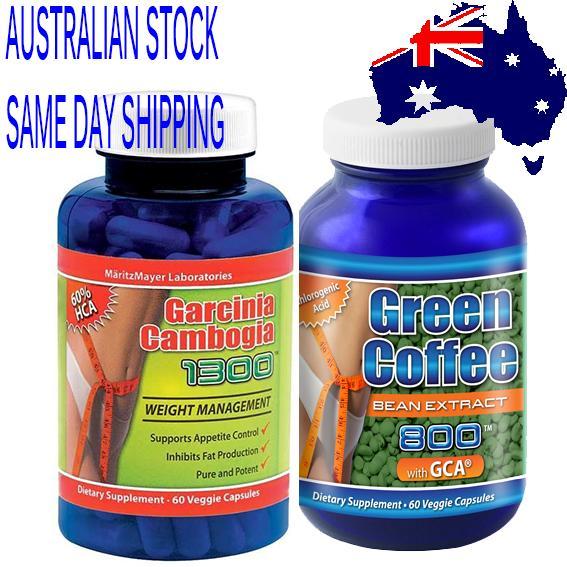 about GARCINIA CAMBOGIA EXTRACT 1000mg 60% HCA & Green Coffee Bean