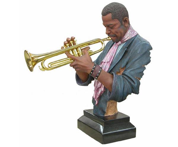 Musical-Trumpet-Figurine-Figure-Ornament-Man-Home-Decor-Soul-Guitar-Jazz-New