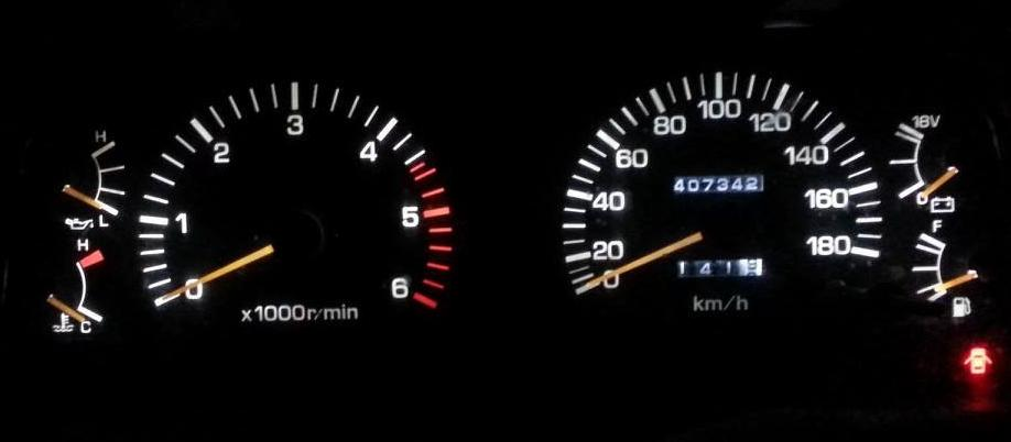 toyota instrument cluster gallery