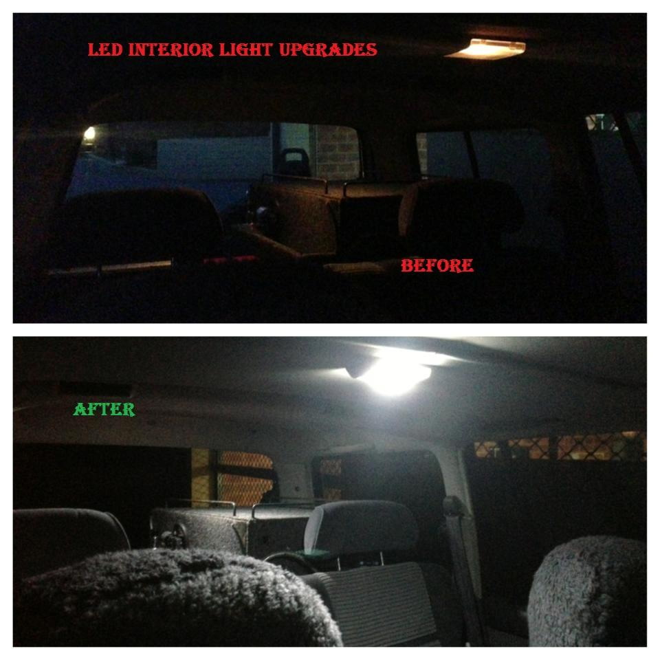 Toyota-Landcruiser-80-series-1990-1998-Interior-light-LED-upgrade-kit-dome-map