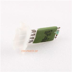 New heater fan blower motor tandem resistor regulator for for Vw passat blower motor resistor