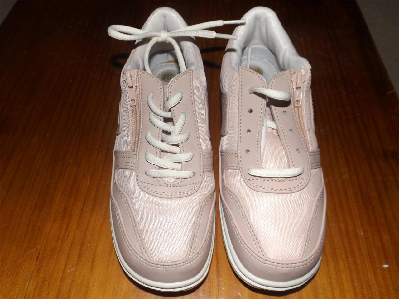 Brand-New-Dunlop-women-girls-shoes-joggers-comfort-walkers-pink-Aus-5-5-6-6-5