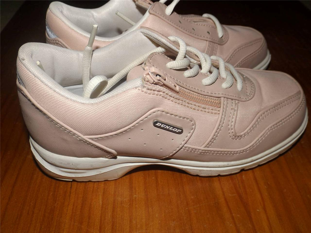 Brand-New-Dunlop-women-girls-shoes-joggers-comfort-walkers-pink-Aus-5-5-6-6-5