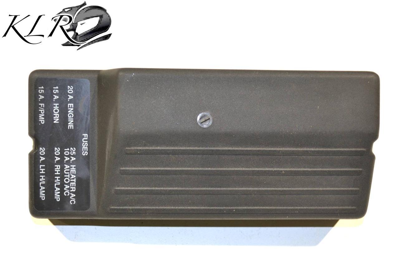 holden commodore vx fuse box