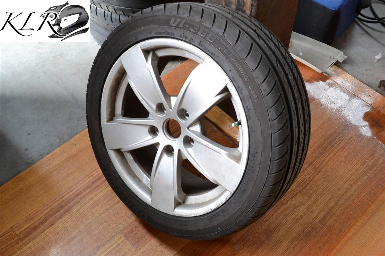 Holden-VY-SS-Spare-Rims-Wheels-Tyres-17-235-45-VR-VS-VT-VX-VU-WH-VY-VZ-KLR