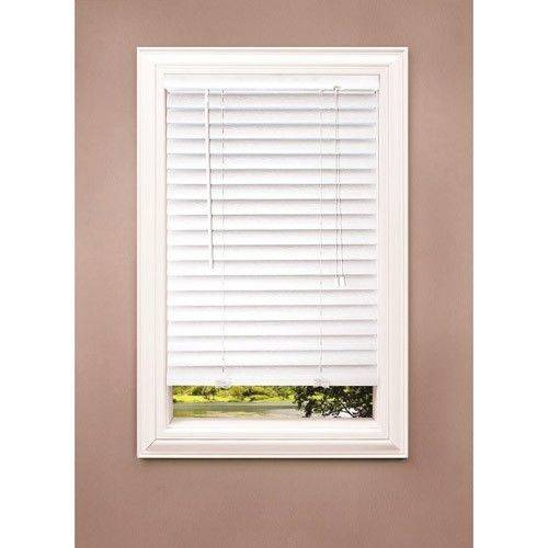 Richfield Studio 2 Faux Wood Blinds White Various Sizes