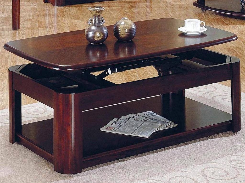New Brandon Lift Top Cocktail Coffee Table Cherry Finish Furniture With Casters Ebay