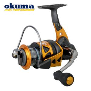 Okuma trio high speed 30s 40s fd series spinning reel for Different types of fishing reels