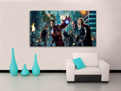 4 Sizes The Avengers Canvas Print Home Wall Decor Art