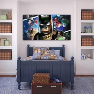 4 Sizes Lego Batman Canvas Print Home Wall Decor Art Game