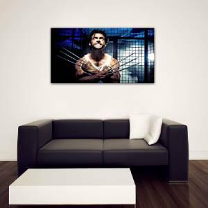 4 Sizes X Men Wolverine Canvas Print Home Wall Decor