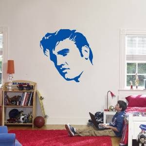 elvis presley decal wall sticker art home decor vinyl