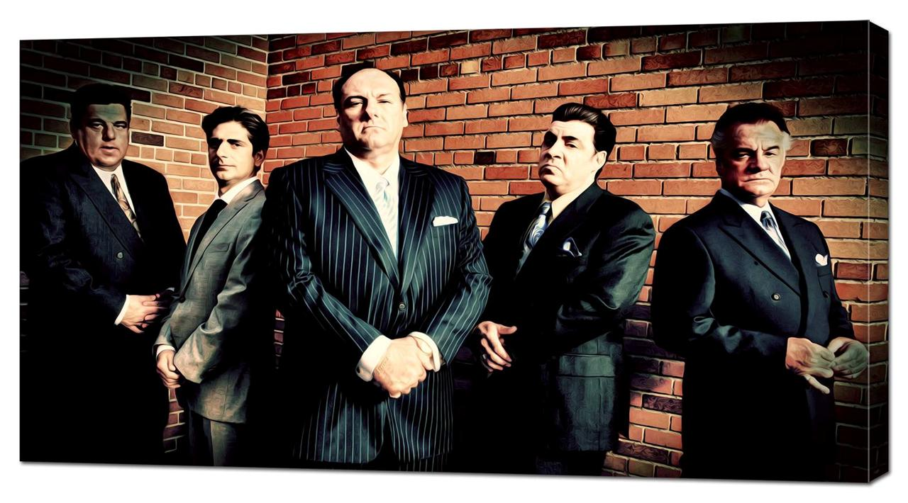 the sopranos canvas print oil painting home wall decor art