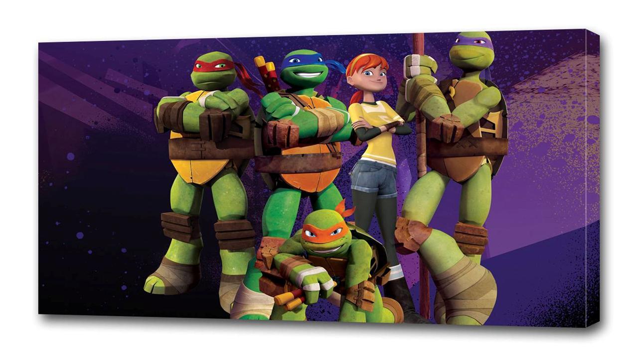 Ninja turtle bedroom - Tmnt Ninja Turtles Canvas Print Wall Decor Art