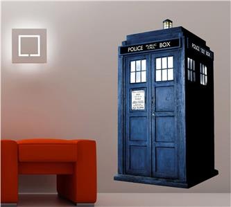 DOCTOR WHO TARDIS - WALL STICKER