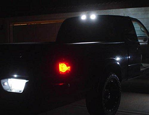 White T10 w/4-SMD LED Bulbs For Ford Chevy GMC High Mount ...