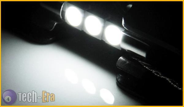 2x white 3 smd 5050 29mm 6641 fuse led bulbs vanity mirror light sun visor lamps ebay. Black Bedroom Furniture Sets. Home Design Ideas